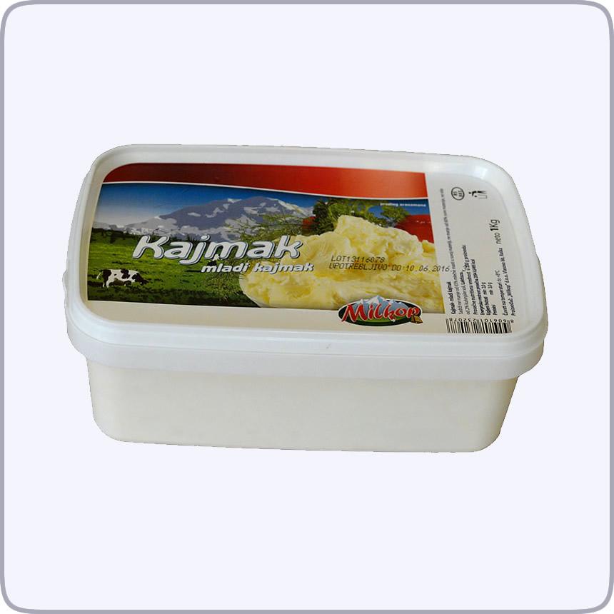 Mladi Kajlmak 1kg - Milkop Raska