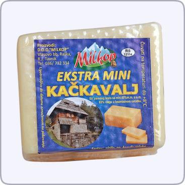 Extra mini kackavalj - Milkop Raska