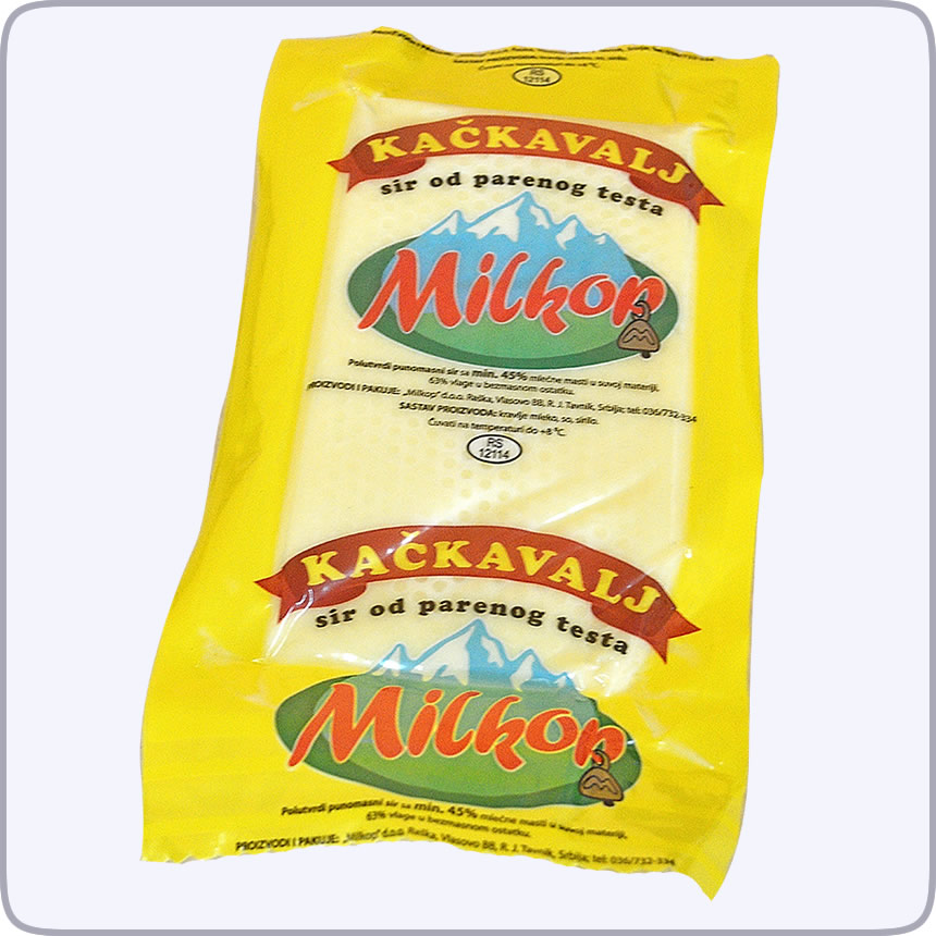 Milkop kackavalj 45% mm